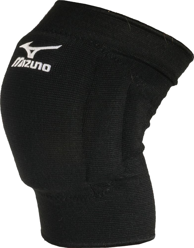 Наколенники волейбольные Mizuno  Team Kneepad , цвет: черный, 2 шт. Размер L - Волейбол