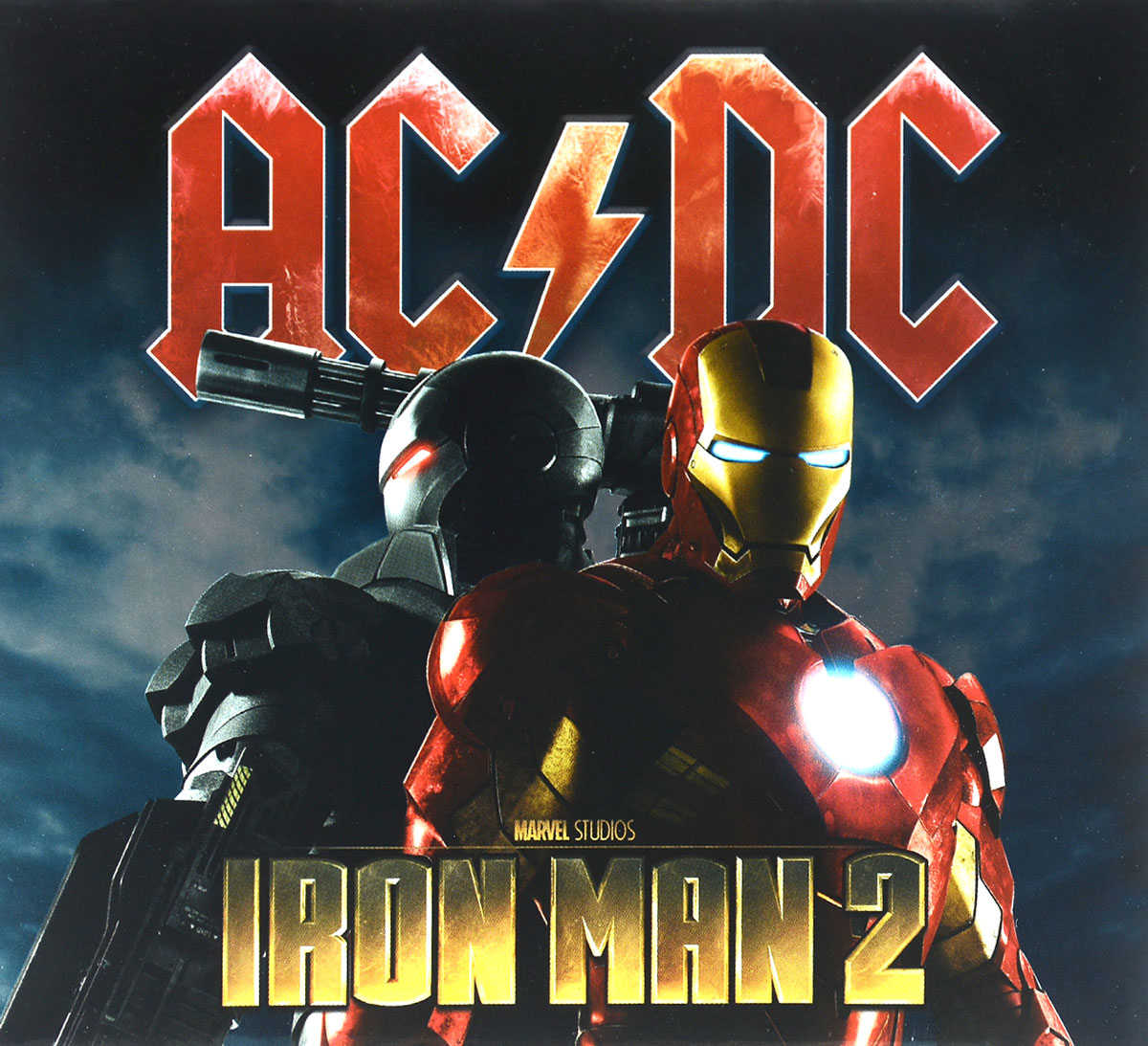 AC/DC AC/DC. Iron Man 2. Original Motion Picture Soundtrack universal us plug ac power adapter charger w 5 5 x 2 1 dc plug black ac 100 240v