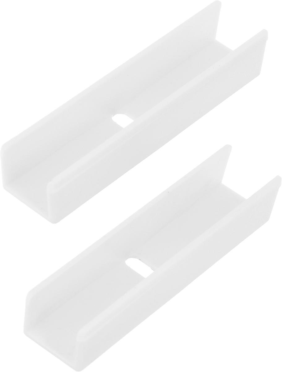 Соединитель для потолочной шины Эскар, 2 шт20050Соединители Эскар выполнены из высококачественного пластика. Предназначены для соединения потолочной шины. Комплектация: 2 шт. Размер соединителя: 5,7 х 1,3 х 1 см.
