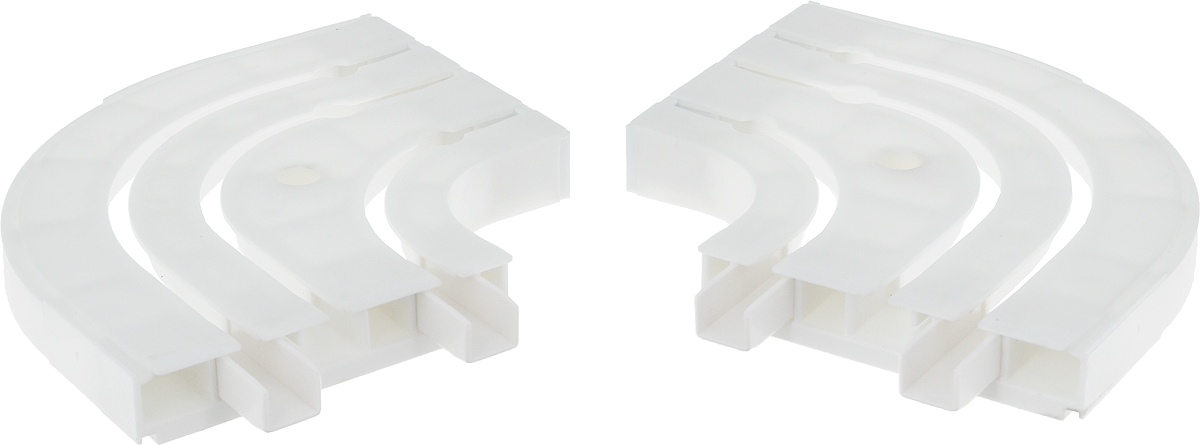 Оконцовка для потолочной шины Эскар, трехрядная, 2 шт20013Оконцовки Эскар являются дополнительными элементами карниза, которые служат для создания поворота на концах потолочного профиля. Изделия обеспечивают удобство в использовании всей конструкции карниза. Они изготавливаются из высокопрочного и экологически безопасного пластика. Качественное сырье гарантирует прочность профиля и неизменный цвет на протяжении многих лет. Оконцовки имеют три ряда и предназначены для потолочного шинного карниза. Комплектация: 2 шт. Высота оконцовки: 1,7 см.Ширина оконцовки: 8,8 см.