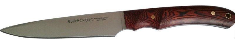 Нож Muela Креол, цвет: красный, длина клинка 14 см. U/CRIOLLO-14 нож охотничий muela лось длина клинка 14 см