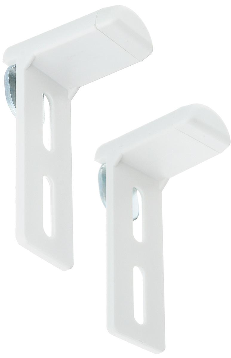 Крепление для фиксации рулонных штор Эскар, универсальное, на распашное окно, без сверления, 2 шт17000Универсально крепление Эскар предназначено для фиксации рулонных штор на распашное окно без сверления. Выполнено из высококачественного пластика. Комплектация: 2 шт. Размер крепления: 7 х 2 х 3,8 см.