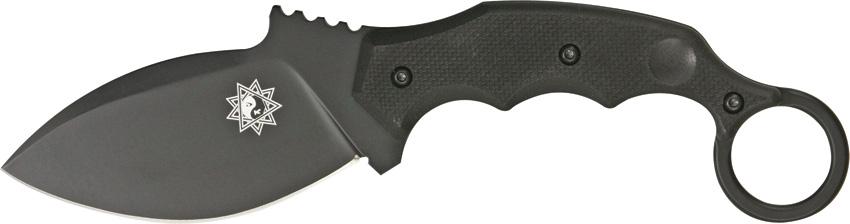 Нож Fox Parong Fighting Karambit, цвет: черный, длина клинка 9,5 см. OF/FX-637TOF/FX-637TЛюбое длительное путешествие требует тщательного выбора снаряжения. Нож с фиксированным лезвием Fox Parong Fighting Karambit OF/FX-637T будет самым необходимым помощником.Стильный и практичный дизайн, как лезвия, так и рукояти.Подходящая и прочная сталь «N690Co» с индексом твердости «60 HRC», а значит, модель можно использовать в любых условиях.При общей длине ножа в 222 мм его вес составляет всего 190 г.Стильные и удобные пластиковые ножны.Наслаждайтесь отдыхом и не волнуйтесь о разных мелочах.Толщина клинка: 4 мм.