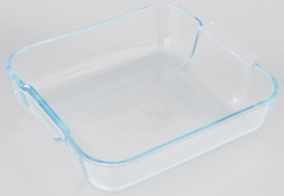 Форма для запекания Pyrex, квадратная, 21 х 21 см220B000/5646Форма для запекания Pyrex изготовлена из закаленногоборосиликатного стекла, что отвечает строгим европейским нормамбезопасности EN 1183. Такое стекло обладает повышенной ударопрочностью,жаропрочностью (от -40°С до +300°С) и выдерживает резкий перепад температурв 220°С. Форма также устойчива к образованию пятен и царапин, не впитываетпосторонние запахи. Изделие экологично, поэтому безопасно для использования. Форма прямоугольная, удобна для запекания мяса, курицы, овощей.Подходит для духовки, микроволновой печи, можно мыть в посудомоечноймашине, ставить в холодильник и морозильную камеру.Высота стенки: 6 см.