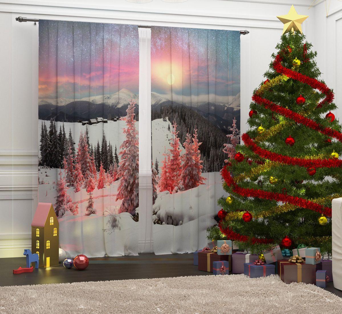 Фотошторы Сирень Волшебство в лесу, на ленте, высота 260 см07292-ФШ-ГБ-001Перед новогодними праздниками каждая хозяйка или хозяин хотят украсить свой дом. Мы предлагаем оригинальное решение, украсить Ваше окно фотошторами с новогодней тематикой. Новогодние фотошторы Сирень станут отличным подарком на Новый год. Подарите радость праздника себе и Вашим близким людям!Текстиль бренда «Сирень» - качество в каждом сантиметре ткани!Крепление на карниз при помощи шторной ленты на крючки.В комплекте: Портьера: 2 шт. Размер (ШхВ): 145 см х 260 см. Рекомендации по уходу: стирка при 30 градусах гладить при температуре до 150 градусов Изображение на мониторе может немного отличаться от реального.