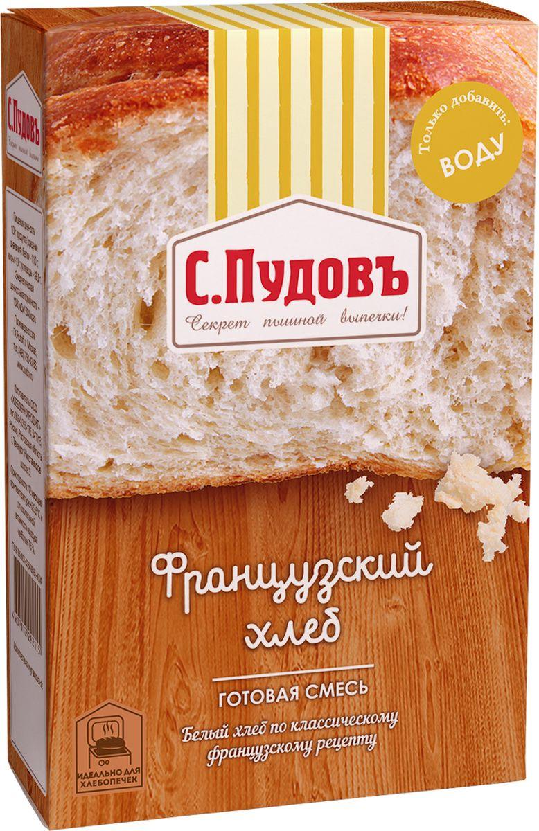 Пудовъ французский хлеб, 500 г пудовъ льняной хлеб 500 г