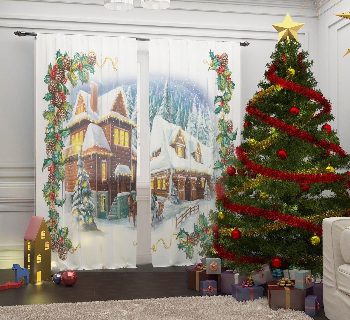 Комплект фототюлей Сирень Рождество в Альпах, на ленте, высота 260 см07290-ФТ-ВЛ-001Перед новогодними праздниками каждая хозяйка или хозяин хотят украсить свой дом. Комплект фототюлей Сирень Рождество в Альпах - оригинальное решение, которое позволит украсить ваше окно отличным рисунком с новогодней тематикой. Он выполнен из легкой парящейвуали. Новогодняя фототюль Сирень станет отличным подарком на Новый год. Подарите радость праздника себе и вашим близким людям!