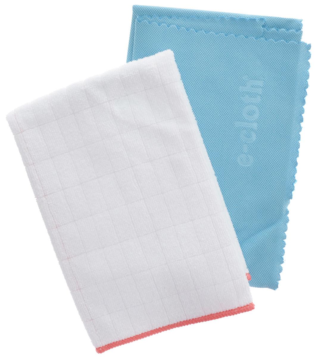 Салфетка E-cloth для полировки и очистки стекла, цвет: белый, голубой, 40 х 50 см + ПОДАРОК: антибактериальная салфетка20244_белый, голубойСалфетка E-cloth выполнена из качественного комбинированного материала: полиэстера и полиамида. Используется для очистки и полировки стеклянных, металлических и других твердых поверхностей без использования химических средств. Достаточно лишь смочить салфетку водой для очистки поверхности от жира и других загрязнений. Для полировки и придания блеска используйте сухую салфетку. Не оставляет разводов. Удаляет свыше 99% бактерий. Выдерживает до 300 циклов стирки без потери эффективности.Материал: 80% полиэстер, 20% полиамид.Размер салфетки: 40 х 50 см.В подарок прилагается антибактериальная салфетка (32 х 32 см).