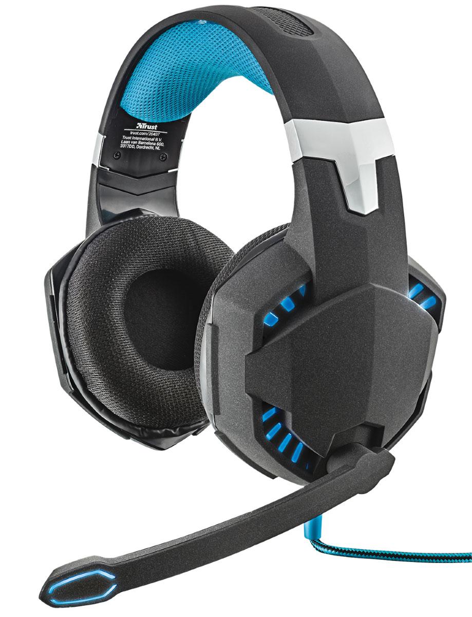 Trust GXT 363 7.1 Bass Vibration игровая гарнитура рация gxt 500