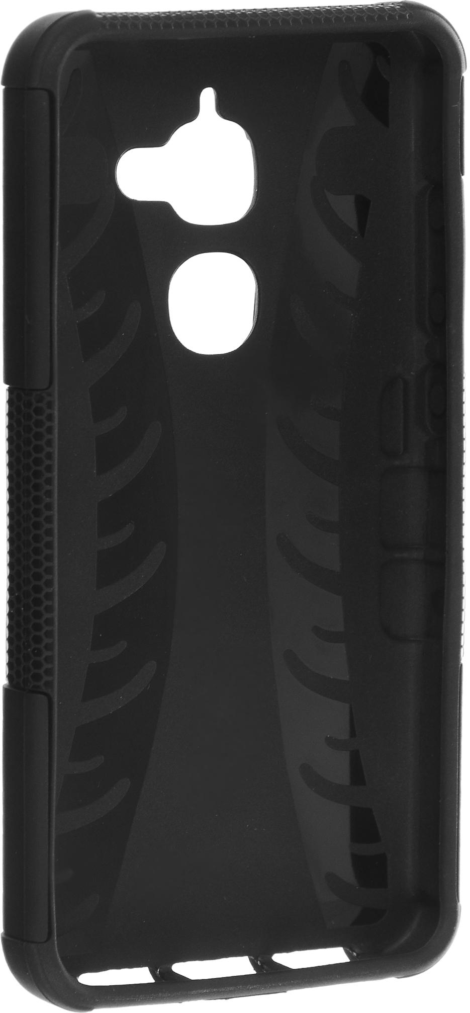 Skinbox Defender Case чехол-накладка для LeEco Le 2 Pro, Black защитный чехол biaze для leeco le 2 le 2 pro