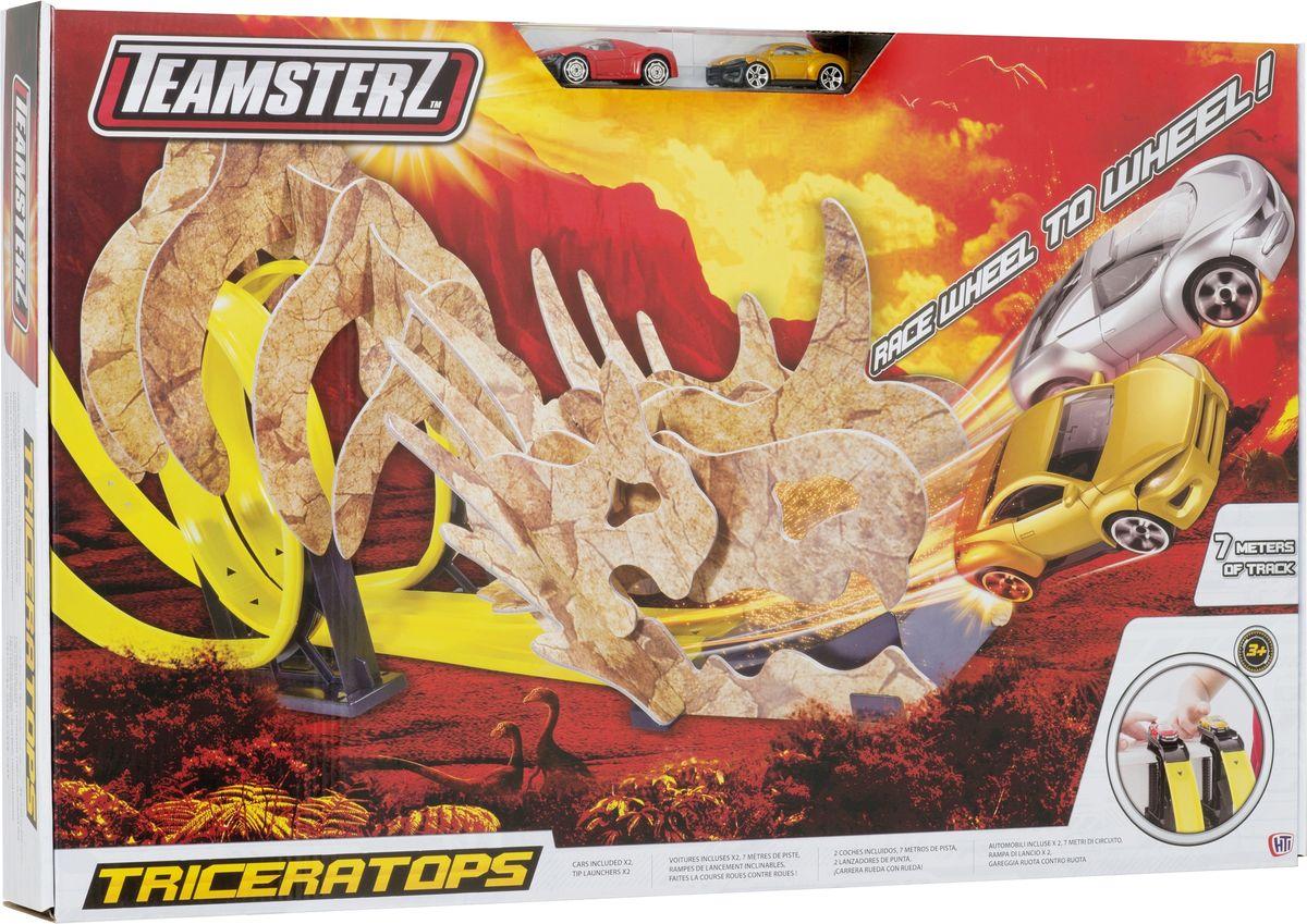 HTI Игрушечный двойной трек Динозавры