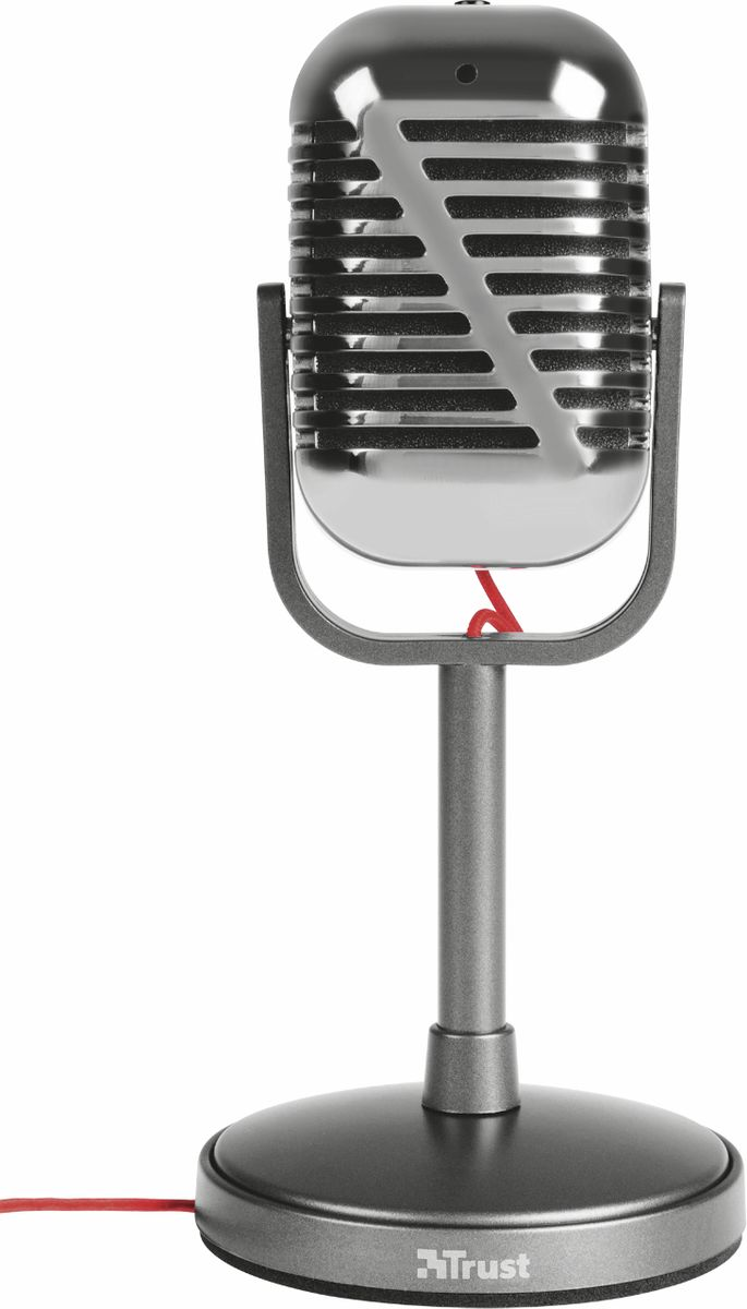Trust Elvill Desktop Microphone, Black микрфон - Микрофоны