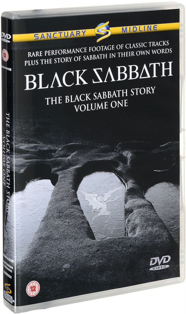 Black Sabbath: The Black Sabbath Story: Volume One black sabbath live… gathered in their masses dvd cd