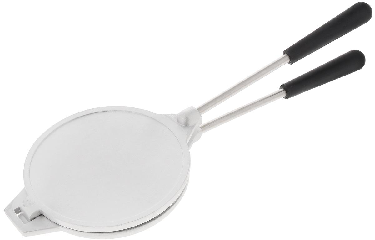 Форма для выпечки печенья Kukmara Орешница. Диаметр 14ф03Сковорода Kukmara Орешница выполнена из высококачественного литого алюминия и предназначена для приготовления печенья. Внутри имеются выемки в виде орешков. Сковорода состоит из двух разъемных частей с длинными ручками. Каждый из нас помнит и знает вкус печенья, наполненного сгущенным молоком и орешками. Благодаря сковороде Kukmara Орешница вы сможете порадовать свою семью и гостей вкусным печеньем. Форма проста и удобна в обращении и предназначена для выпечки в домашних условиях на любом нагревательном приборе. С такой сковородой вы получите вкусное домашнее печенье, потратив минимум усилий! Диаметр (по верхнему краю): 14 см.Высота стенки: 3 см. Длина ручки: 20 см.Количество форм: 8 шт.
