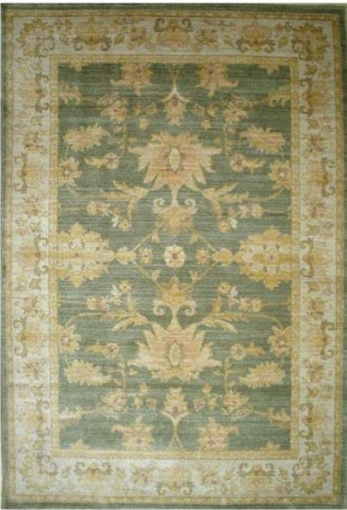 Ковер Oriental Weavers Бабилон, цвет: светло-зеленый, 120 х 180 см. 11179