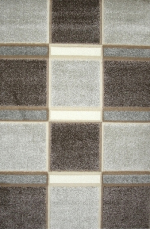 Ковер Oriental Weavers Леа, цвет: коричневый, 80 х 140 см. 14914 ковер oriental weavers транс цвет розовый 80 х 140 см 16744