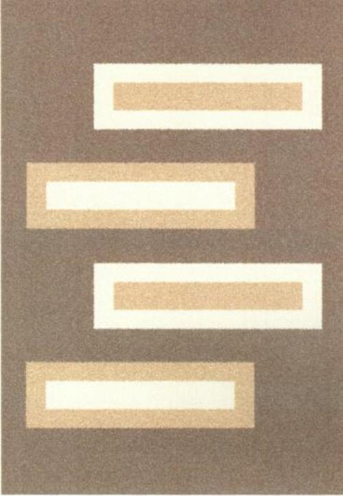 Ковер Oriental Weavers Варшава, цвет: светло-коричневый, 80 х 140 см. 17229 ковер oriental weavers транс цвет розовый 80 х 140 см 16744