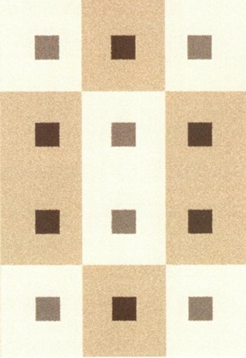 Ковер Oriental Weavers Варшава, цвет: светло-коричневый, 80 х 140 см. 17230 ковер oriental weavers транс цвет розовый 80 х 140 см 16744