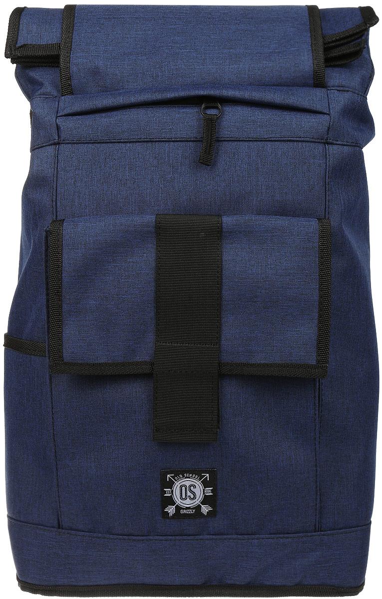 Рюкзак городской Grizzly, цвет: темно-синий, 26 л. RU-702-2/3