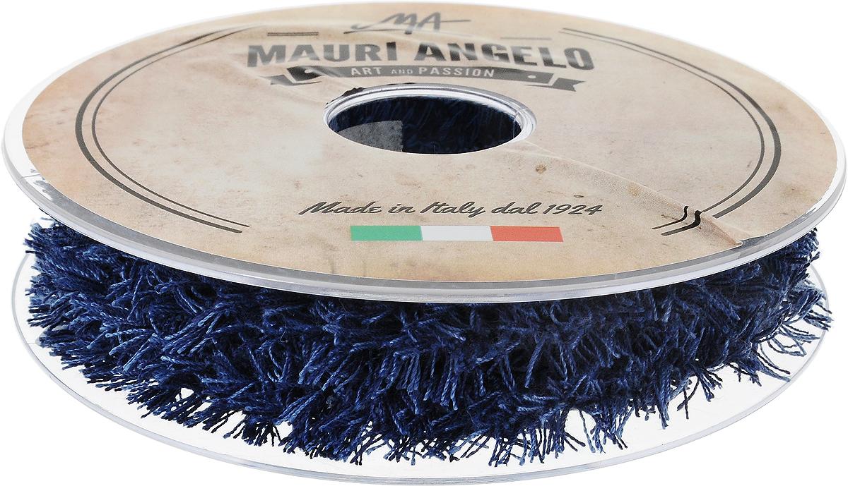 Лента декоративная Mauri Angelo, цвет: синий, голубой, 1,7 см х 10 м