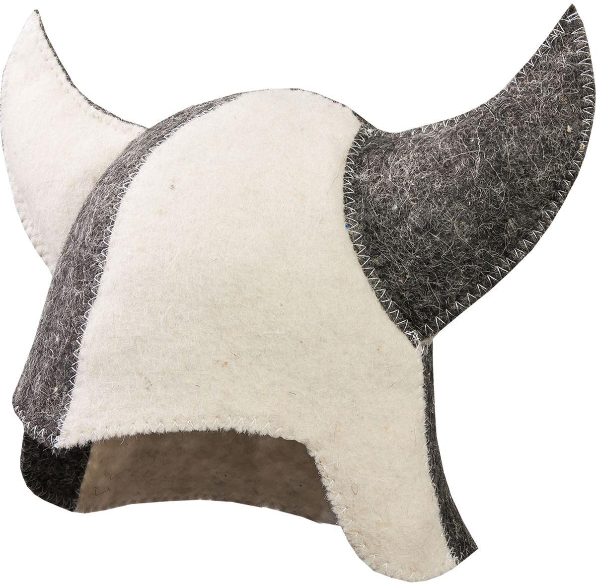 Шапка для бани и сауны Hot Pot Викинг41185Шапка для бани и сауны Hot Pot — это необходимый аксессуар при посещении парной. Такая шапка защитит от головокружения и перегрева головы, а также предотвратит ломкость и сухость волос. Изделие замечательно впитывает влагу, хорошо сидит на голове, обеспечивает комфорт и удовольствие от отдыха в парилке. Незаменима в традиционной русской бане, также используется в финских саунах, где температура сухого воздуха может достигать 100°С. Шапка выполнена в оригинальном дизайне.