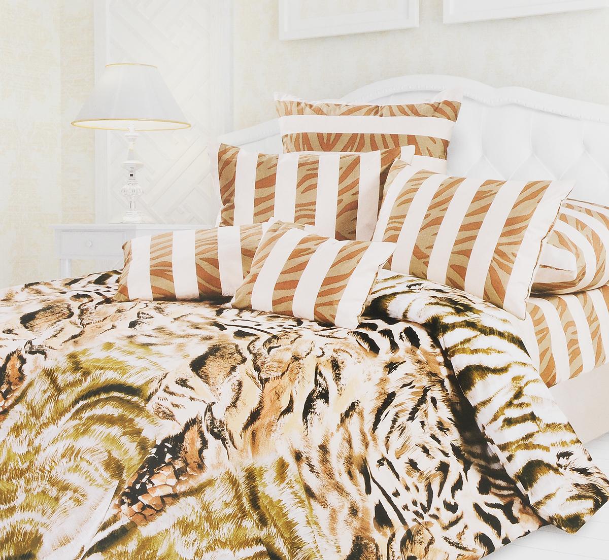 Комплект белья Унисон Пума, 2-спальный, наволочки 70x70 пума магазин в саратове