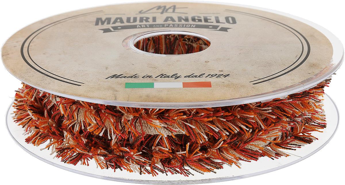 Лента декоративная Mauri Angelo, цвет: оранжевый, розовый, белый, 1,7 см х 10 мMR8944EL/PL/2_оранжевый, розовый, белыйДекоративная кружевная лента Mauri Angelo - текстильное изделие, которое тянется и применяется для отделки одежды, а также в оформлении интерьера, декоративных панно, скатертей, тюлей, покрывал. Декоративная кружевная лента Mauri Angelo станет незаменимым элементом в создании рукотворного шедевра. Ширина: 1,7 см.Длина: 10 м.