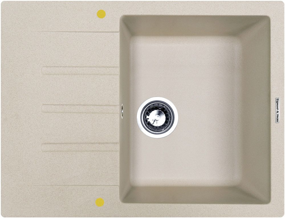 Мойка кухонная Zigmund & Shtain Rechteck 645, врезная, 1 чаша, крыло, цвет: осенняя траваrechteck645Zigmund & Shtain RECHTECK 645, кухонная мойка, иск.гранит, 1чаша-крыло, форма прямоугольная, глубина-21, Цвет осенняя трава