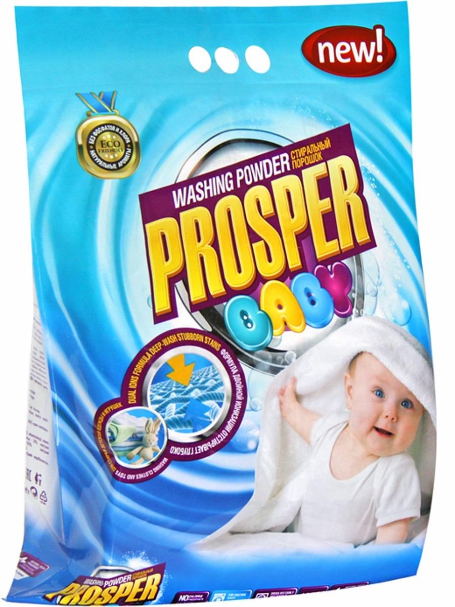 Стиральный порошок для детских вещей и мягких игрушек PROSPER, концентрированный, 3 кг4623721712067Стиральный порошок для детских вещей и мягких игрушек PROSPER имеет формулу, которая специально разработана для ухода за одеждой ивещами детей с первого года жизни. - Формула двойной ионизации обеспечивает эффект двойной стирки, позволяет отстирывать сложные и въевшиеся пятна. - Не содержит фосфатов и хлора, не вызывают аллергии и раздражения, безопасны для окружающей среды. - Легко смывается, не оставляя осадка, раздражающего кожу. - Содержит натуральные ароматизаторы, полностью удаляет неприятные запахи и придает тканям легкий аромат. - Предназначен для использования в стиральных машинах любого типа и для ручной стирки.