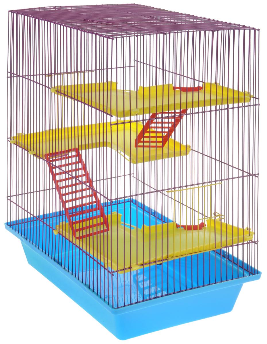 Клетка для грызунов ЗооМарк