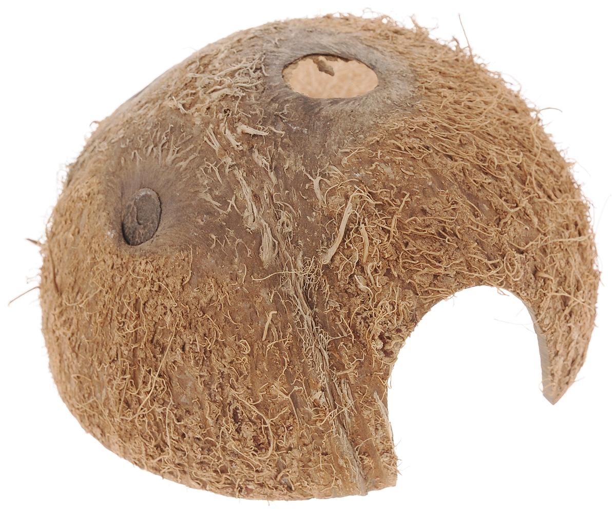Пещера декоративная для аквариума JBL Cocos Cava, из кожуры кокоса, 11,5 х 11,5 х 6 смJBL6151000Декоративная пещера JBL Cocos Cava - это идеальное место для нереста и укрытия рыб. Пещера станет оригинальным украшением для вашего аквариума. Обитатели террариума охотно используют эту натуральную пещеру в качестве места для сна и укрытия. Изделие изготовлено из натурального материала без ядовитых веществ.Размер пещеры: 11,5 х 11,5 х 6 см.Размер отверстия: 3,7 х 3,5 см.