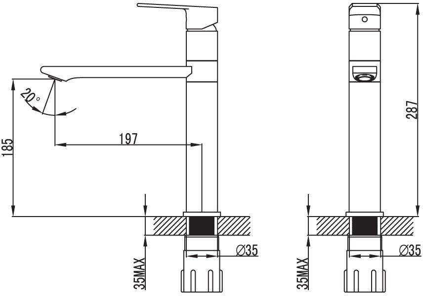 """Смеситель для кухни Iddis """"Edifice"""" изготовлен из высококачественной первичной латуни, прочной, безопасной и стойкой к коррозии. Инновационные технологии литья и обработки латуни, а также увеличенная толщина стенок смесителя обеспечивают его стойкость к перепадам давления и температур.  Увеличенное никель-хромовое покрытие полностью соответствует европейским стандартам качества, обеспечивает его стойкость и зеркальный блеск в течение всего срока службы изделия.  Благодаря гладкой внутренней поверхности смесителя, рассекателям в водозапорных механизмах и аэратору он имеет минимальный уровень шума. Смеситель оборудован картриджем Kerox со специальной встроенной системой шумопоглощения, который обеспечивает долгий срок службы смесителя. Аэратор легко извлекается из смесителя с помощью монетки, упрощая его очистку. Встроенный ограничитель потока оптимизирует расход воды без потери комфорта при использовании. В комплекте: гибкая подводка, крепеж. Гарантия на смесители Iddis - 10 лет."""