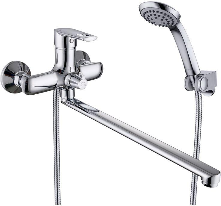 Смеситель для ванны Iddis Runo, с длинным изливом, с керамическим дивертором, цвет: хромRUNSBL2i10Смеситель для ванны Iddis Runo изготовлен из высококачественной первичной латуни, прочной, безопасной и стойкой к коррозии. Инновационные технологии литья и обработки латуни, а также увеличенная толщина стенок смесителя обеспечивают его стойкость к перепадам давления и температур. Увеличенное никель-хромовое покрытие полностью соответствует европейским стандартам качества, обеспечивает его стойкость и зеркальный блеск в течение всего срока службы изделия. Благодаря гладкой внутренней поверхности смесителя, рассекателям в водозапорных механизмах и аэратору он имеет минимальный уровень шума.Смеситель оборудован керамическим дивертором, чей сверхнадежный механизм обеспечивает плавное и мягкое переключение с излива на душ, а также непревзойденную надежность при любом давлении воды.Картридж Softap обеспечивает особую плавность хода ручки смесителя - для точной регулировки температуры и напора воды.Аэратор легко извлекается из смесителя с помощью монетки, упрощая его очистку. Встроенный ограничитель потока оптимизирует расход воды без потери комфорта при использовании.Длина излива: 350 мм.В комплекте: лейка и шланг из нержавеющей стали длиной 1,5 м с защитой от перекручивания. Гарантия на смесители Iddis - 10 лет.