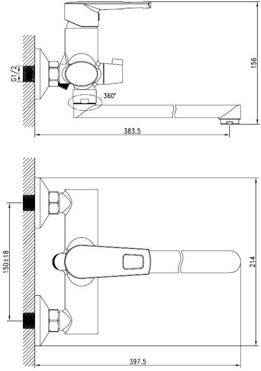 """Смеситель для ванны Iddis """"Runo"""" изготовлен из высококачественной первичной латуни, прочной, безопасной и стойкой к коррозии. Инновационные технологии литья и обработки латуни, а также увеличенная толщина стенок смесителя обеспечивают его стойкость к перепадам давления и температур.  Увеличенное никель-хромовое покрытие полностью соответствует европейским стандартам качества, обеспечивает его стойкость и зеркальный блеск в течение всего срока службы изделия.  Благодаря гладкой внутренней поверхности смесителя, рассекателям в водозапорных механизмах и аэратору он имеет минимальный уровень шума. Смеситель оборудован керамическим дивертором, чей сверхнадежный механизм обеспечивает плавное и мягкое переключение с излива на душ, а также непревзойденную надежность при любом давлении воды. Картридж Softap обеспечивает особую плавность хода ручки смесителя - для точной регулировки температуры и напора воды. Аэратор легко извлекается из смесителя с помощью монетки, упрощая его очистку. Встроенный ограничитель потока оптимизирует расход воды без потери комфорта при использовании. Длина излива: 350 мм. В комплекте: лейка и шланг из нержавеющей стали длиной 1,5 м с защитой от перекручивания.  Гарантия на смесители Iddis - 10 лет."""