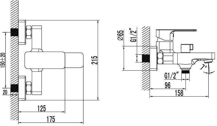 """Смеситель для ванны Iddis """"Urban"""" изготовлен из высококачественной первичной латуни, прочной, безопасной и стойкой к коррозии. Инновационные технологии литья и обработки латуни, а также увеличенная толщина стенок смесителя обеспечивают его стойкость к перепадам давления и температур.  Увеличенное никель-хромовое покрытие полностью соответствует европейским стандартам качества, обеспечивает его стойкость и зеркальный блеск в течение всего срока службы изделия.  Благодаря гладкой внутренней поверхности смесителя, рассекателям в водозапорных механизмах и аэратору он имеет минимальный уровень шума. Смеситель оборудован керамическим дивертором, чей сверхнадежный механизм обеспечивает плавное и мягкое переключение с излива на душ, а также непревзойденную надежность при любом давлении воды. Смеситель оборудован картриджем Kerox со специальной встроенной системой шумопоглощения, который обеспечивает долгий срок службы смесителя. Съемный пластиковый аэратор Neoperl гарантирует ровный и мягкий поток воды без брызг. Встроенный ограничитель потока оптимизирует расход воды без потери комфорта при использовании. В комплекте: лейка и шланг из нержавеющей стали длиной 1,5 м с защитой от перекручивания.   Гарантия на смесители Iddis - 10 лет. Гарантия на лейку и шланг составляет 3 года."""