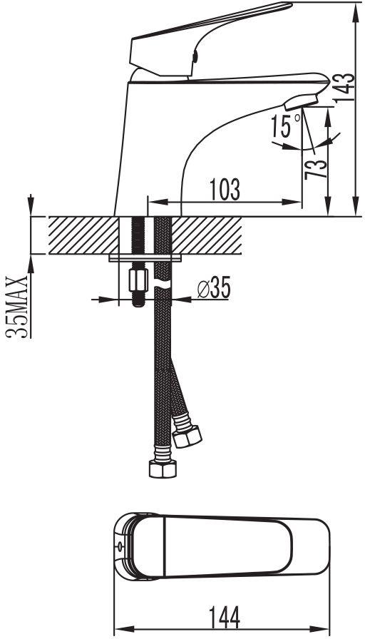Смеситель для умывальника IDDIS изготовлен из высококачественной первичной  латуни, прочной, безопасной и стойкой к коррозии. Инновационные технологии  литья и обработки латуни, а также увеличенная толщина стенок смесителя  обеспечивают его стойкость к перепадам давления и температур.  Увеличенное никель-хромовое покрытие полностью соответствует европейским  стандартам качества, обеспечивает его стойкость и зеркальный блеск в течение  всего срока службы изделия.  Благодаря гладкой внутренней поверхности смесителя, рассекателям в  водозапорных механизмах и аэратору он имеет минимальный уровень шума. Картридж Softap обеспечивает особую плавность хода ручки смесителя - для  точной регулировки температуры и напора воды. Съемный пластиковый аэратор Neoperl гарантирует ровный и мягкий поток воды  без брызг. Встроенный ограничитель потока оптимизирует расход воды без  потери комфорта при использовании. В комплект входят гибкая подводка (35 см.), крепеж. Гарантия на смесители IDDIS - 10 лет.