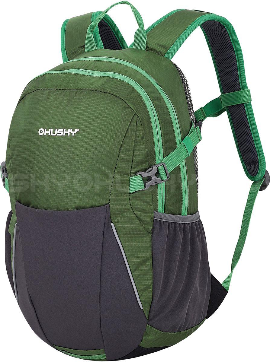 Рюкзак городской Husky Maker, цвет: зеленый, 20 л плащ husky husky hu011ewqrr50