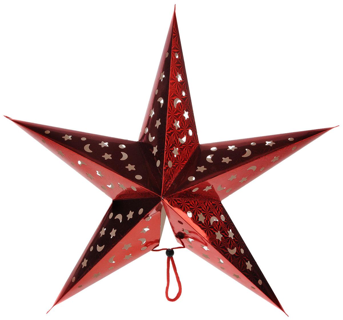 Украшение новогоднее House & Holder Звезда, со светодиодной подсветкой, 60 х 55 х 16 смDP-C38-14099Новогоднее украшение House & Holder Звезда выполнено из картона и оснащено светодиодной подсветкой, работающей от двух батареек типа АА. Изделие можно подвесить в любом понравившемся вам месте. Такое украшение поможет украсить дом или офис к предстоящим праздникам.Новогодние украшения всегда несут в себе волшебство и красоту праздника. Создайте в своем доме атмосферу тепла, веселья и радости, украшая его всей семьей. Размеры звезды: 60 х 55 х 16 см. длина подсветки: 130 см.