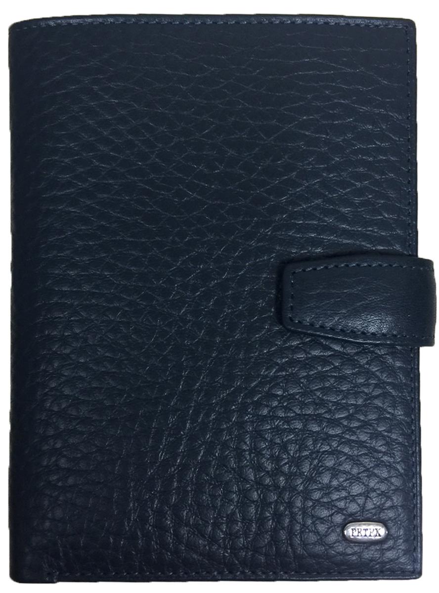 Обложка для автодокументов мужская Petek 1855, цвет: синий. 596.46D.88Натуральная кожаОбложка для паспорта и автодокументов Petek 1855 из натуральной кожи великолепной выделки. Практичная и удобная модель для тех, кто предпочитает все необходимое хранить в одном месте. Внутри обложка имеет специальное отделение для паспорта, вынимающийся блок из прозрачного пластика для автодокументов. Обложка застегивается на кнопку.