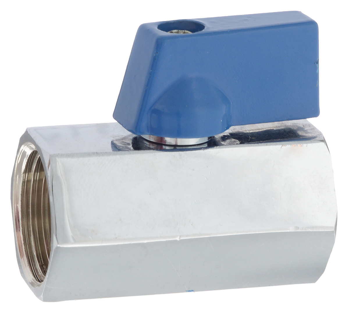 Кран шаровой миний U-tec Best, 1/2UTV2203.C 02/BШаровой кран U-tec Best изготовлен из латуни и предназначен для установки на трубопроводах в качестве запорного устройства. Используется при работе с водой или паром. Поворотный механизм крана имеет пластиковую ручку.
