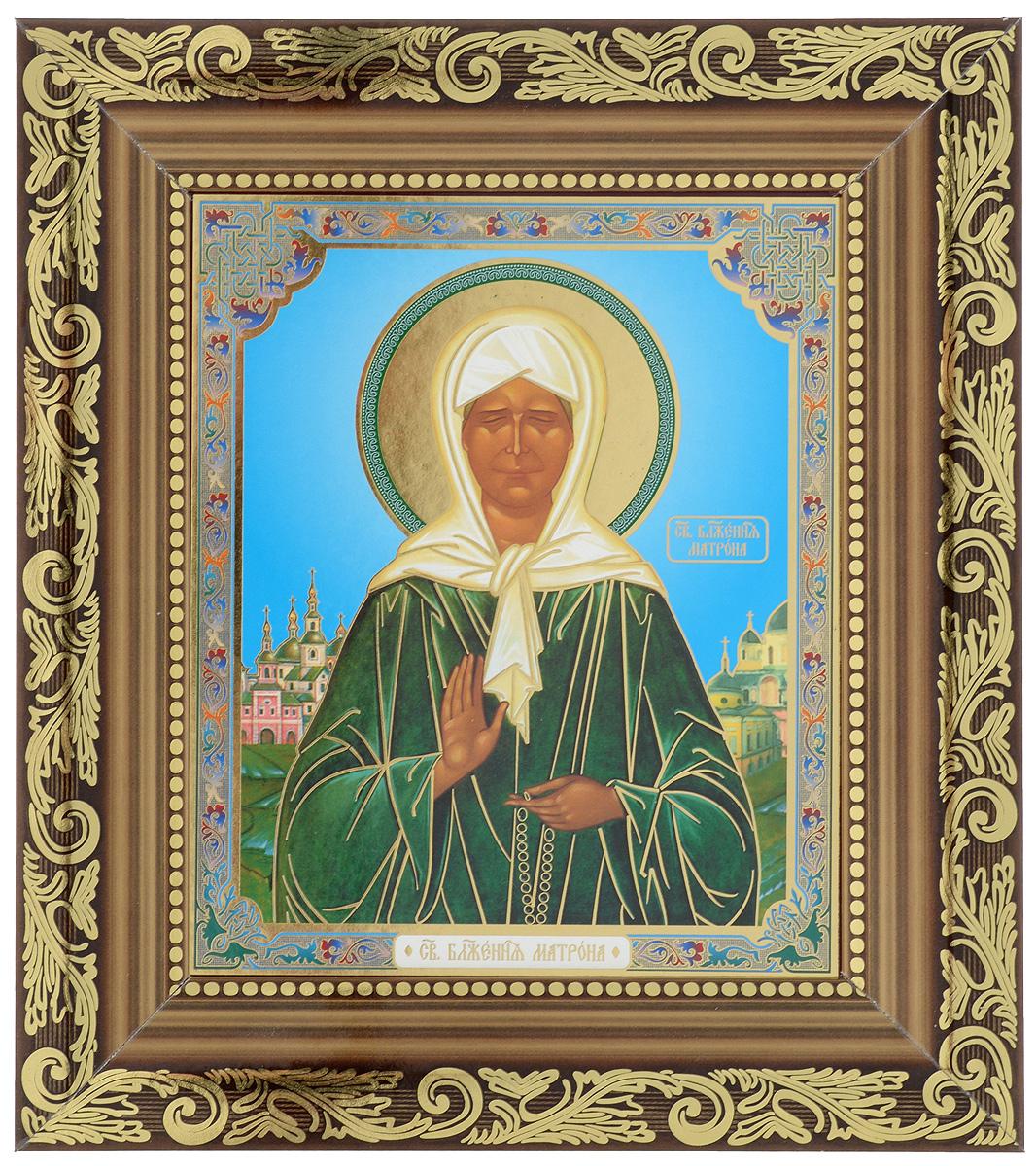 Икона Proffi Святая Блаженная Матрона Московская, 14 х 17 см икона пресвятая богородица 10 5 см х 14 5 см