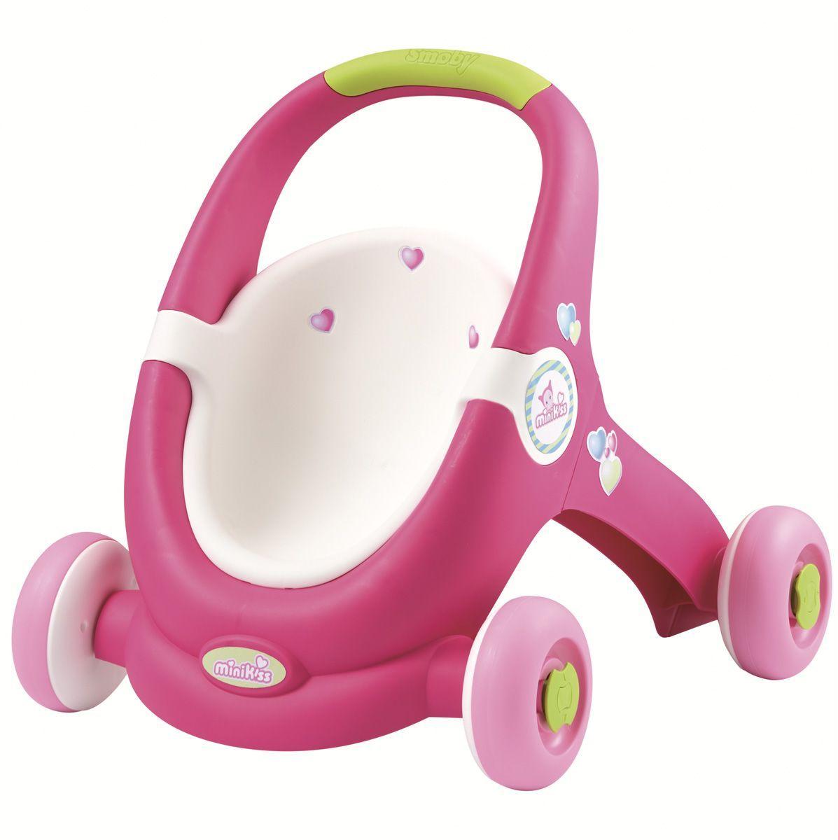 Smoby Ходунки-коляска для кукол smoby ходунки коляска для кукол
