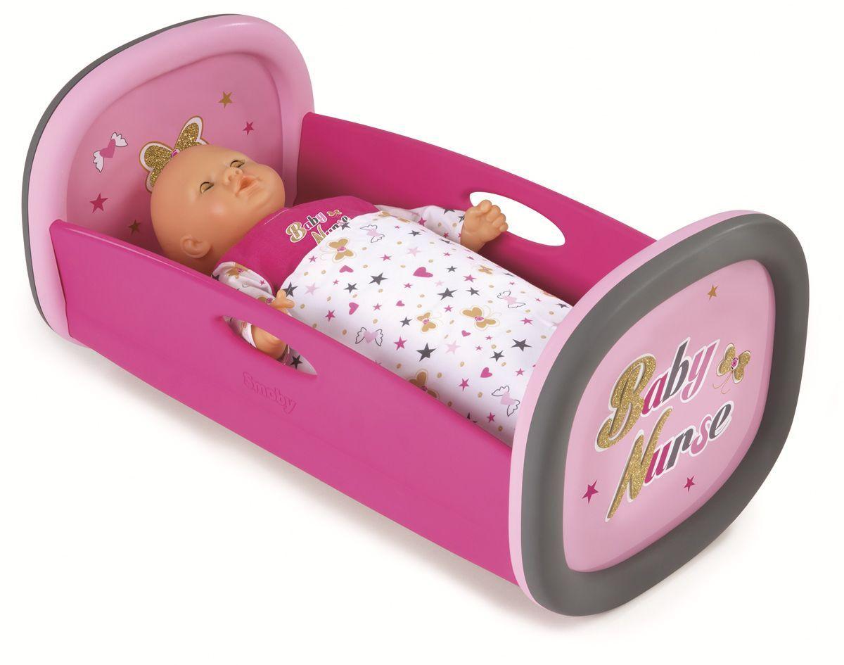 Smoby Мебель для кукол Колыбель Baby Nurse аксессуары для кукол большой слон мебель для больших кукол до 30 см детская м 007