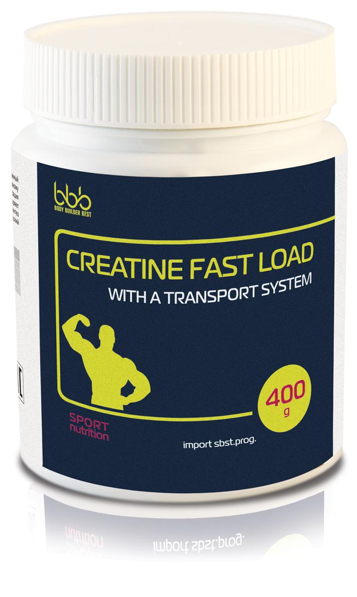 Креатиновый комплекс bbb Creatine Fast Load, клубника, 400 г