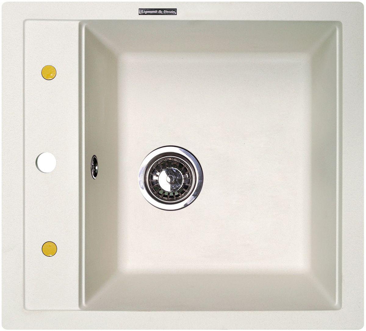 """Мойка для кухни Zigmund & Shtain """"Platz 465"""" с врезной установкой выполнена из искусственного гранита. Врезная мойка монтируется в уже подогнанную под нее столешницу или тумбу. Своей верхней цельнометаллической кромкой она плотно прижимается к поверхности тумбы, столешницы.  Мойка кухонная Zigmund & Shtain """"Platz 465"""" геометрически гармонично впишется в любую столешницу и прекрасно дополнит её. Гранит, из которого выполнена мойка, обладает поистине безграничными возможностями при эксплуатации."""