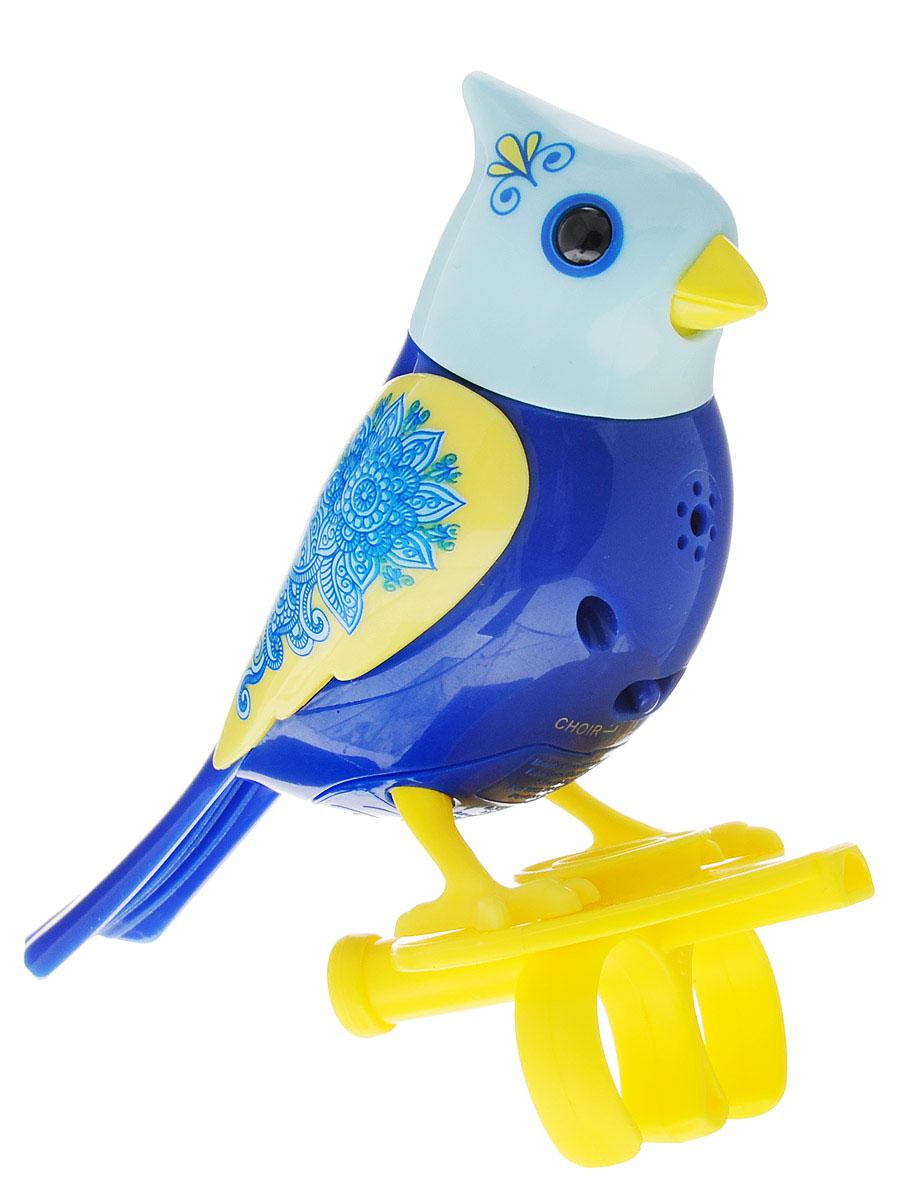 DigiFriends Интерактивная игрушка Птичка с кольцом цвет синий желтый - Интерактивные игрушки