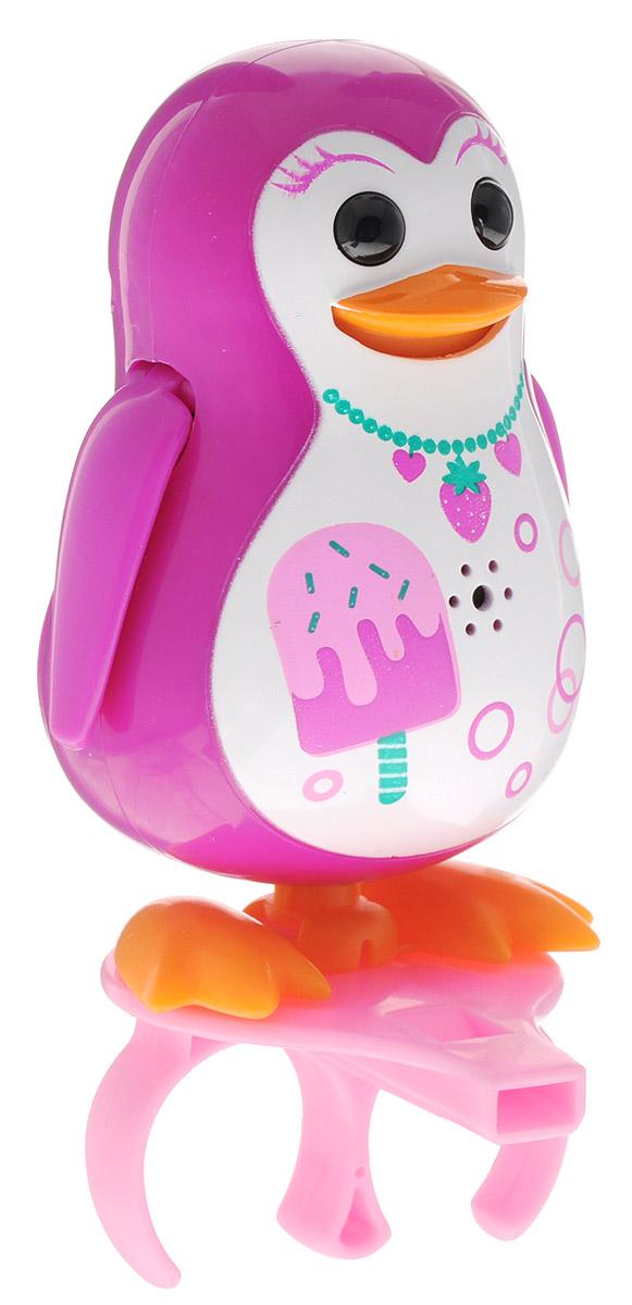 DigiFriends Интерактивная игрушка Пингвин Сластена с кольцом digifriends интерактивная игрушка пингвин с кольцом цвет фиолетовый