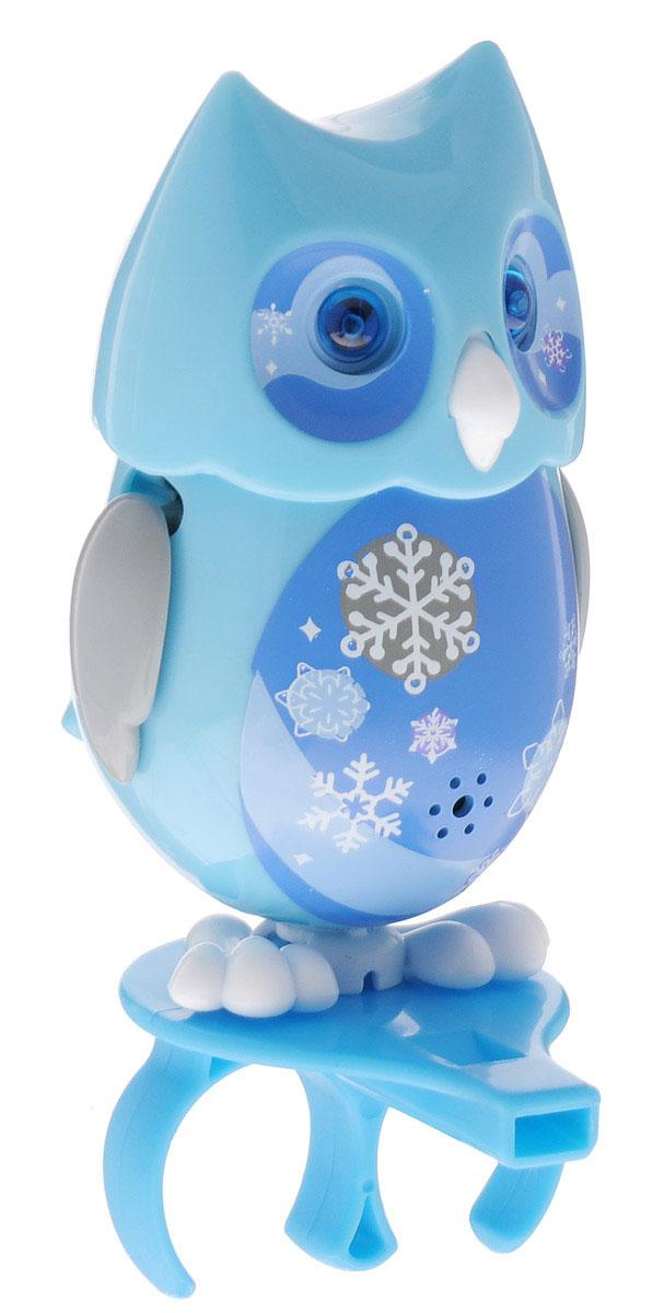 DigiFriends Интерактивная игрушка Сова с кольцом цвет голубой digifriends интерактивная игрушка пингвин с кольцом цвет фиолетовый