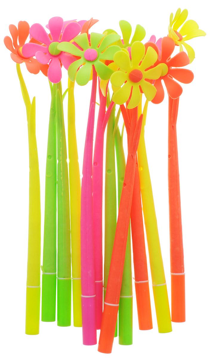 Эврика Ручки мягкие 12 шт 9737997379Оригинальные шариковые ручки Эврика выполнены из мягкого полимера в виде симпатичных цветочков. Ручки могут гнуться в разные стороны. Гибкие, удобные ручки с нескользящим корпусом, шариковым пишущим стержнем и удивительным флористическим дизайном вдохновят свежестью формы каждого обладателя.Ручки с синими чернилами и компактными пластиковыми колпачками.Такая ручка станет отличным подарком и незаменимым аксессуаром, она несомненно, удивит и порадует получателя. Сотрудниц, родных, знакомых и любимых девушек можно радовать целыми букетами, составленными из ручек с разным декором.