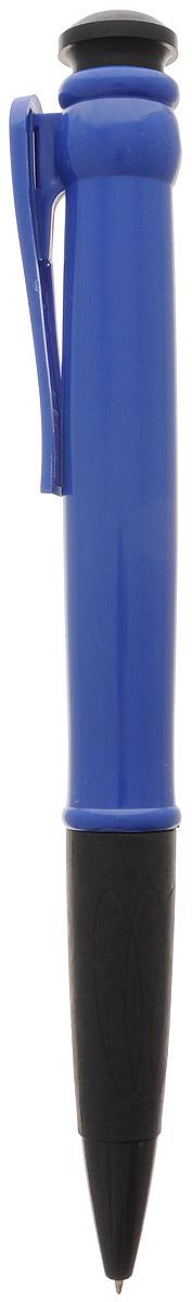 Эврика Ручка шариковая цвет корпуса синий 28,5 см96081Огромная шариковая ручка Эврика поразит воображение любого, кто увидит ее впервые. Ручка автоматическая, имеет сменный стержень с чернилами и клип, все как у ее настоящих младших собратьев.Оригинальную ручку можно использовать для подписания шуточных документов, участия в конкурсах и просто в качестве удивительного сувенира. Несмотря на ее большие размеры, писать такой ручкой довольно удобно.